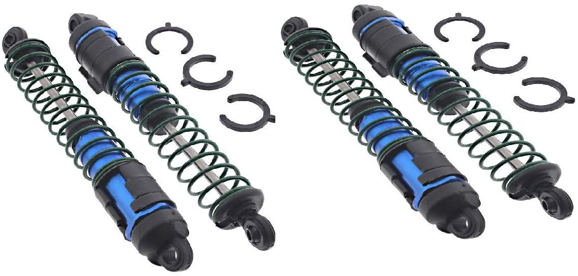 ASSOCIATED Team SC10 B Blue Aluminum Shocks for Great Performance.