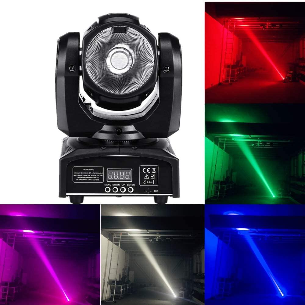 60W LED RGBW 4in1 beam Moving Head Light dj controller super bright LED Spot Light dmx control Stage lighting
