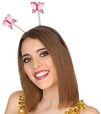 Atosa 38797 Butterfly Headband, Pink, Single
