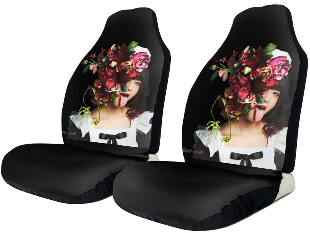 Hhill Swater Band-Maid Stylish and Comfortable Car Seat Cover, Car Seat Cover, Front and Rear, Flat-Type Universal Car Seat Cover