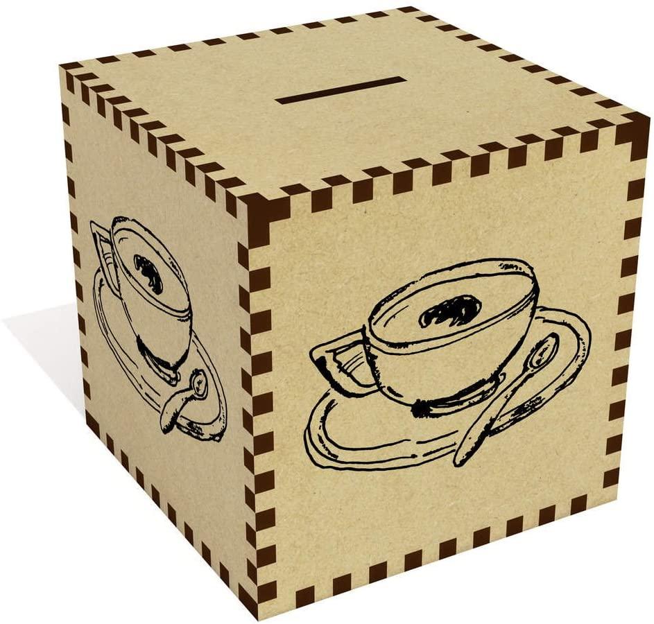 Azeeda Large 'Cup of Coffee' Money Box / Piggy Bank (MB00052700)