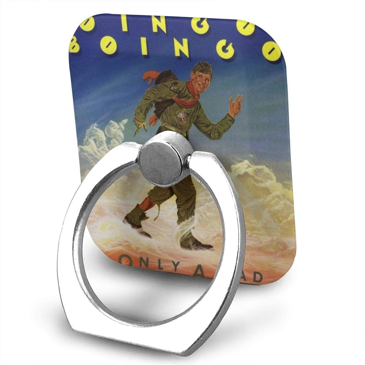 Oingo Boingo Phone Finger Ring Stand Bracket Holder Smartphone Grip Stand Holder 360 Degree Rotating Sticky Cute