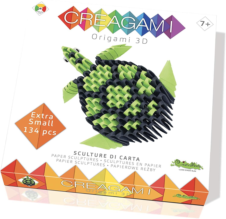 CreativaMente Creagami Turtle, Multicoloured, 702