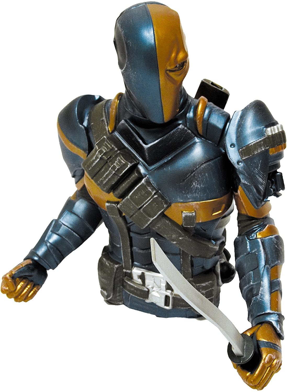 Monogram Arkham Origins: Death Stroke Bust Bank