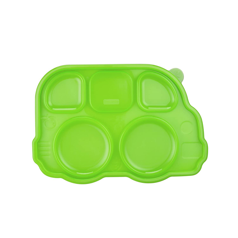 Innobaby Din Din Smart Stainless Divided Platter Sectional Lid, Green