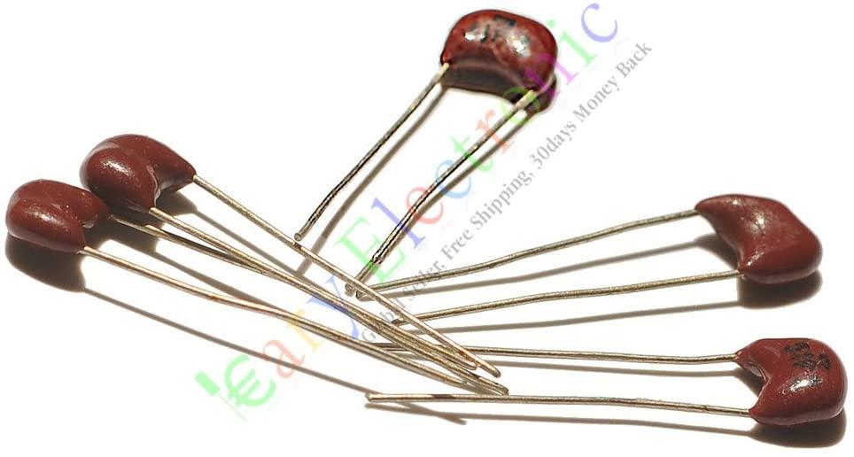 Cayyi 10pc Silver film MICA Capacitor 7pF 500V for hifi audio amps guitar amp tone