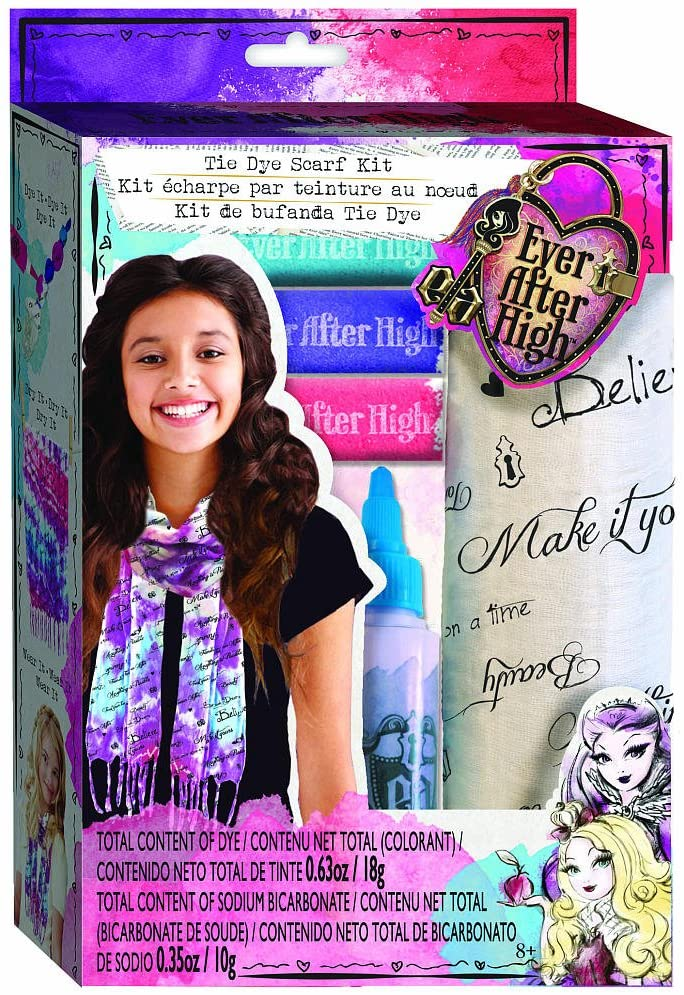 Ever After High Tie Dye Scarf Kit