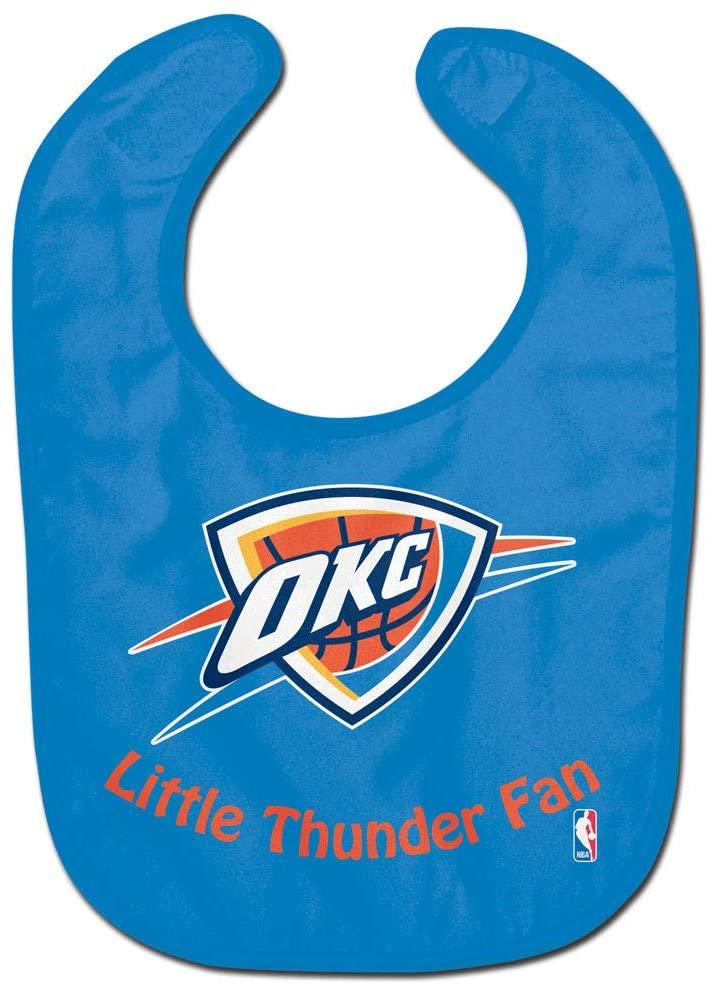 WinCraft NBA Oklahoma City Thunder WCRA2061514 All Pro Baby Bib