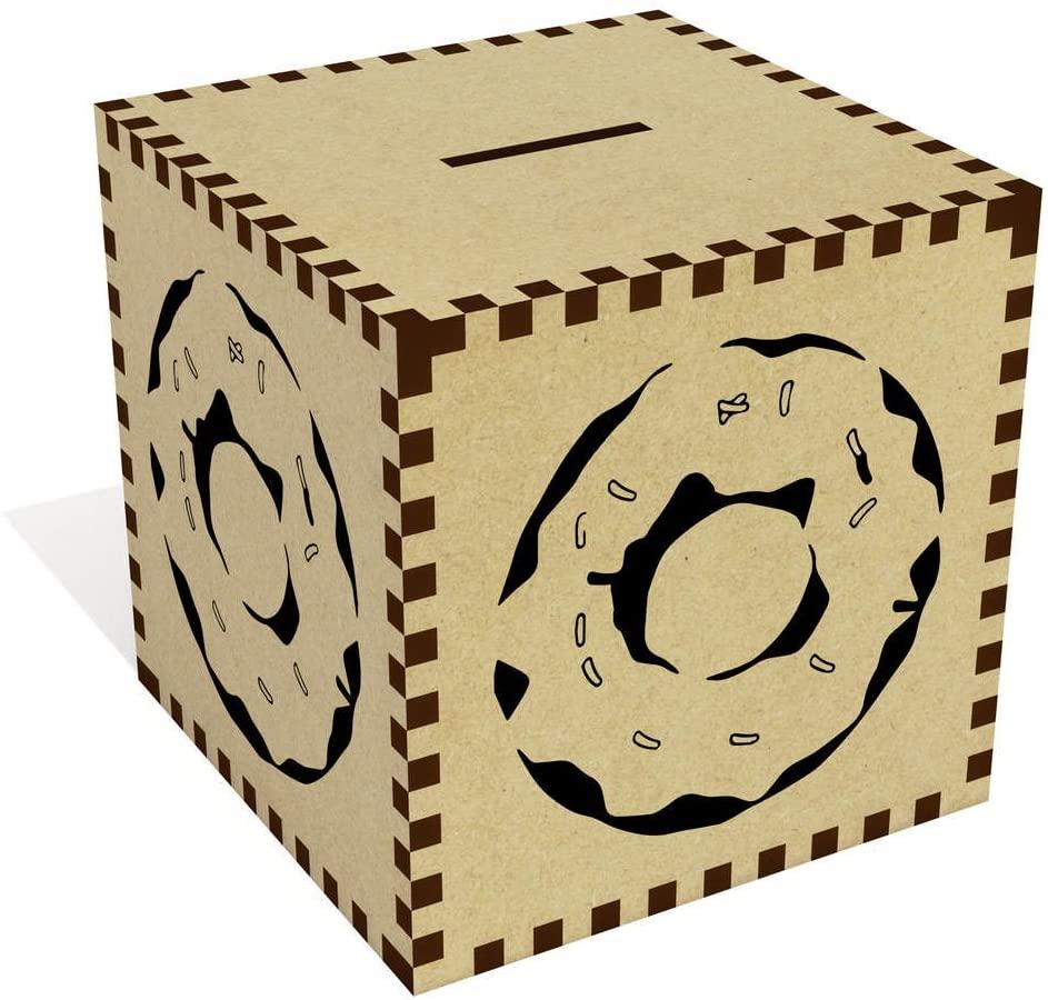 Azeeda Large 'Doughnut' Money Box / Piggy Bank (MB00008783)