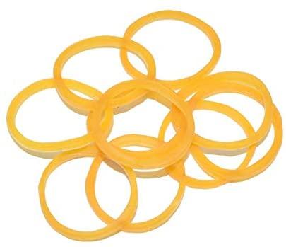 Parts & Accessories 10PCS 20mm Yellow Battery Retention Rubber Band for RC Models Multicopter DIY Spare Part Accessories