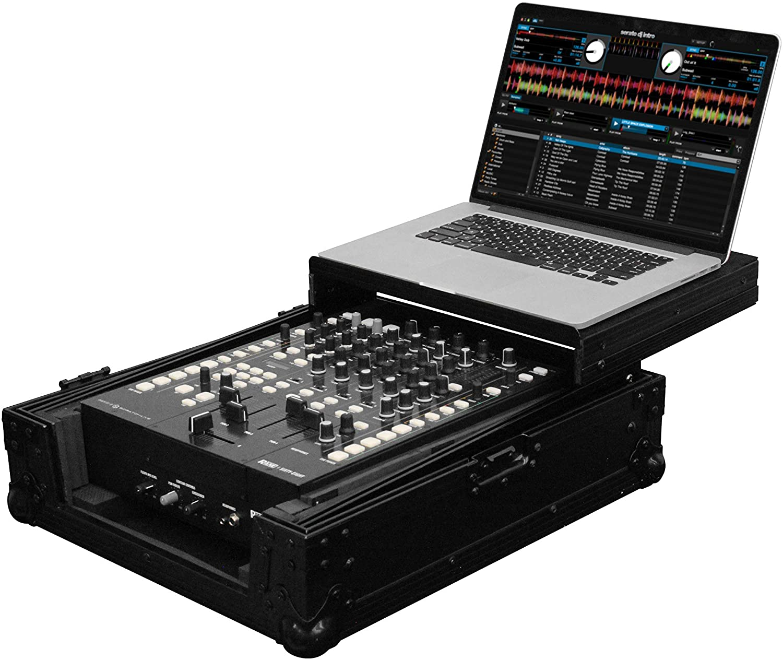 Odyssey FZGS12MX1BL Black Label 12'' DJ Mixer Glide Style Case
