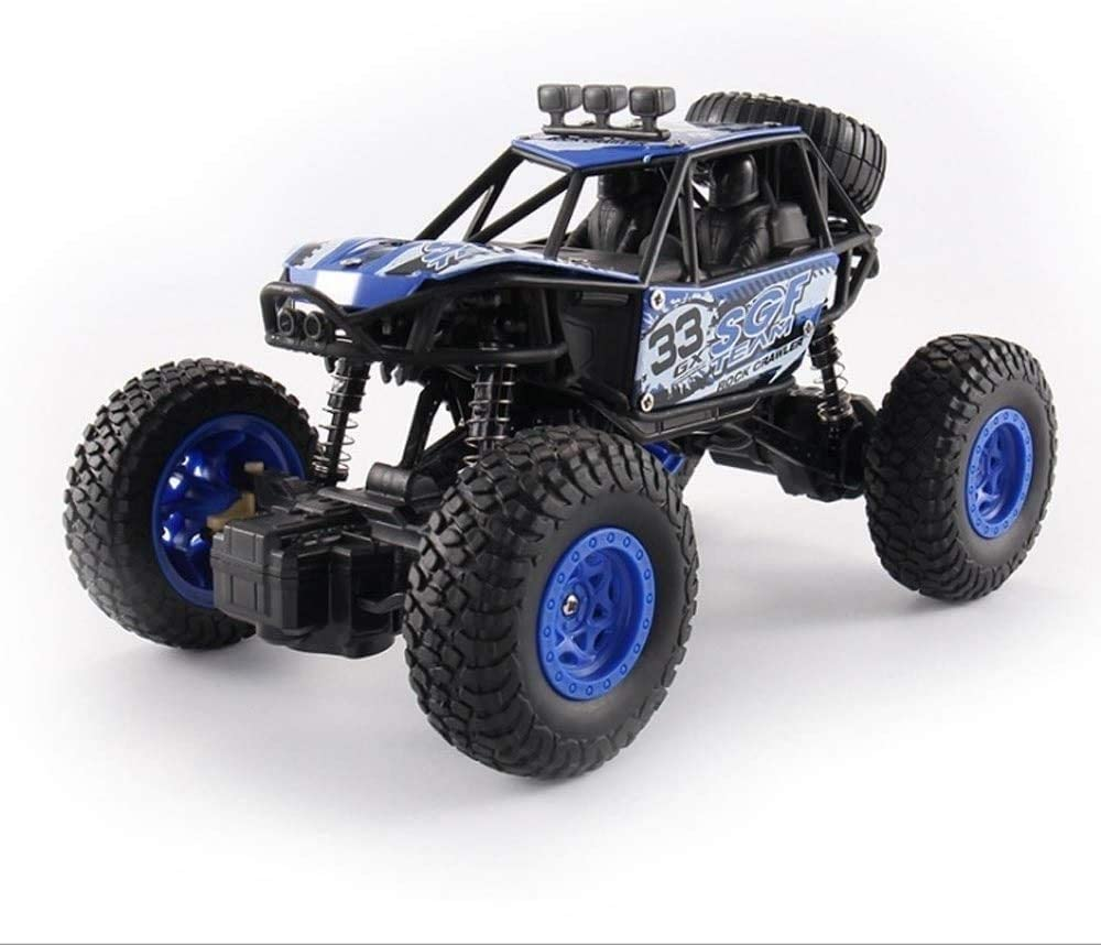 Zhangl 1:20 Scale RC Car Remote Control Car Off-Road 2.4Ghz Radio Controlled Race Buggy Hobby Racing Truck Off Road Electric High Speed Monster Truck RC Buggy Race Crawler Xmas Present for Kids