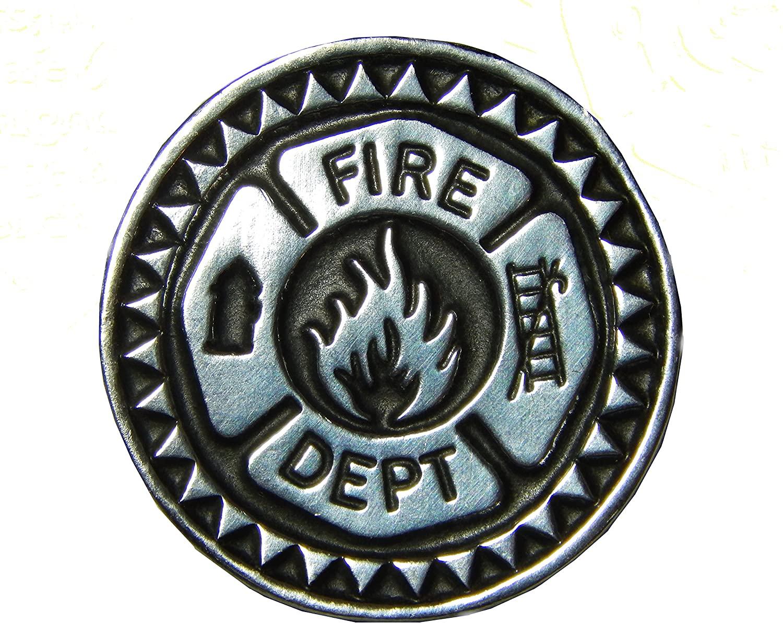 Set of 3 Firefighter Prayer Pocket Tokens 1-1/8