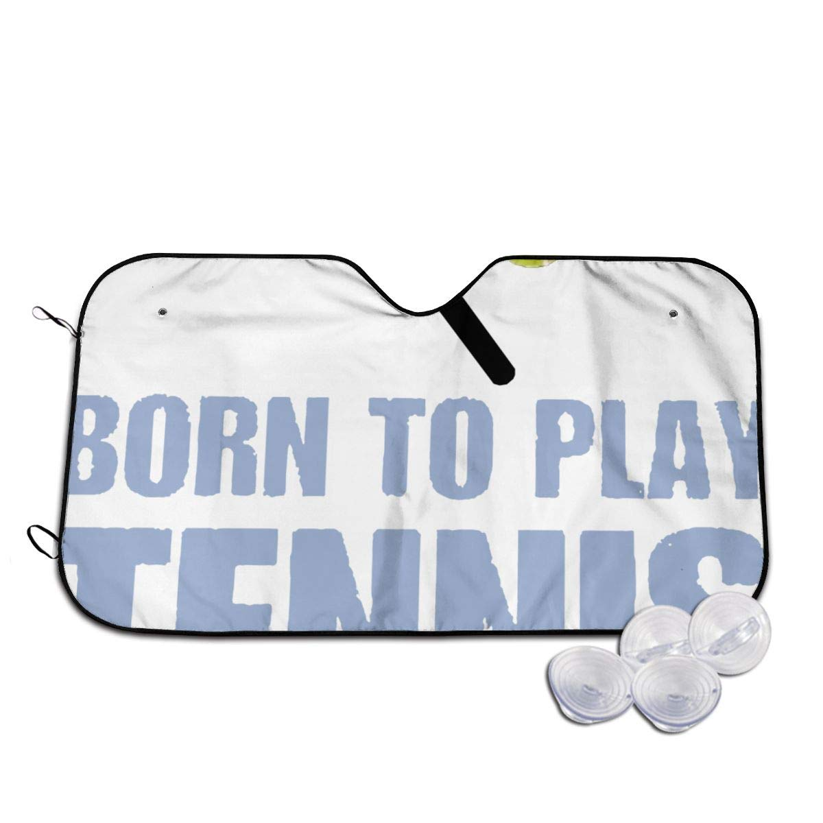 Born to Play Tennis with My Daddy Windshields Sun Shade 3D Printed Long Lasting
