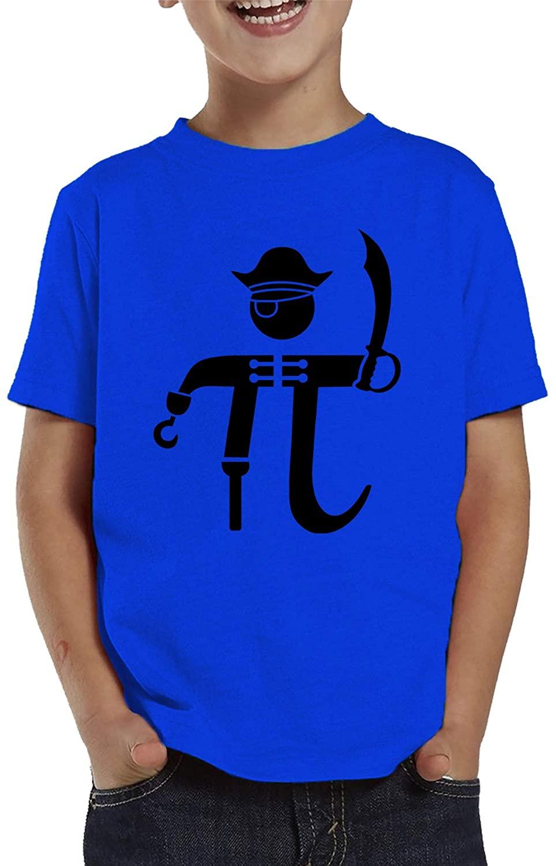 SpiritForged Apparel Pi-Rate Pirate Math Symbol Toddler T-Shirt