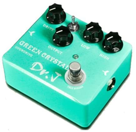 Joyo Dr.J D50 Green Crystal Overdrive Electric Guitar Effect Pedal True Bypass