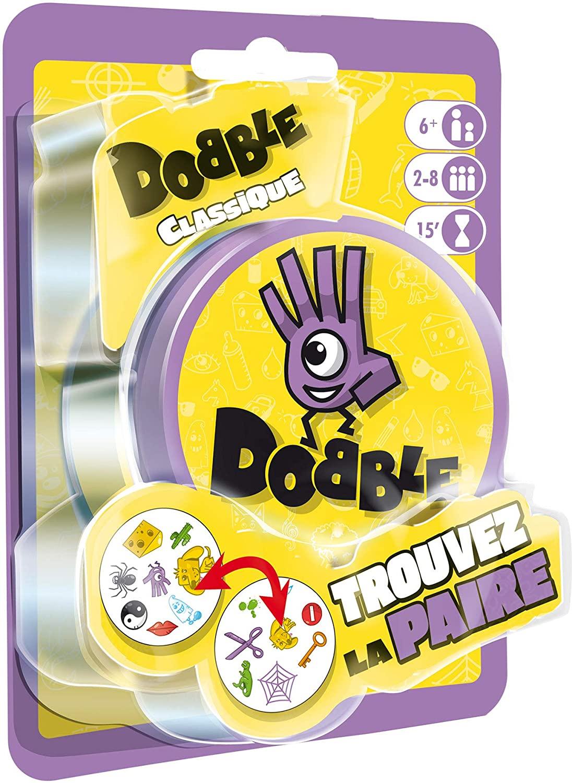 Asmodée - Dobble Classic Blister DOBB02FR Mood Game