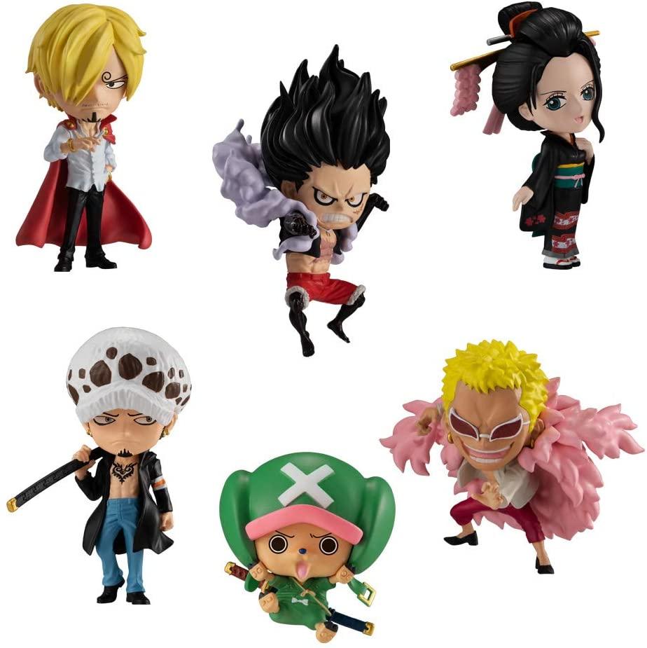 Bandai Shokugan One Piece Adverge Motion 3 Set