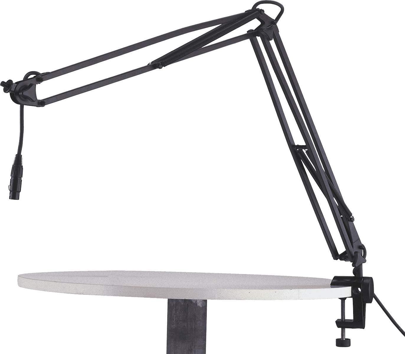 K&M 23850 Microphone Desk Arm - Black
