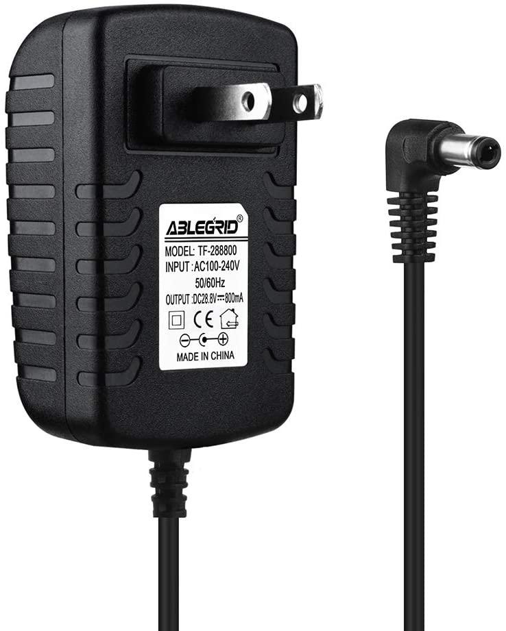 ABLEGRID AC Adapter Charger for Shark ION Rocket IR101 IR-101 Ultra-Light Vacuum Power Supply Cord Mains PSU