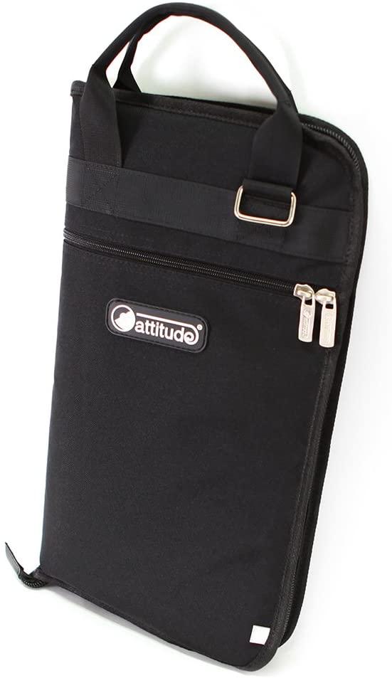 Attitude Bsl15100 Large Busker Drumstick Bag - Black