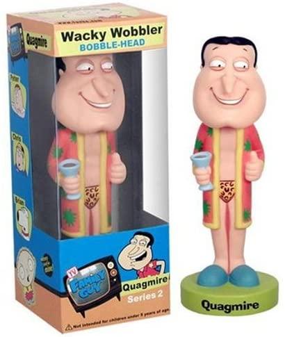 Quagmire in Leopard Undies from Family Guy Nodders Funko Wacky Wobblers Series 2