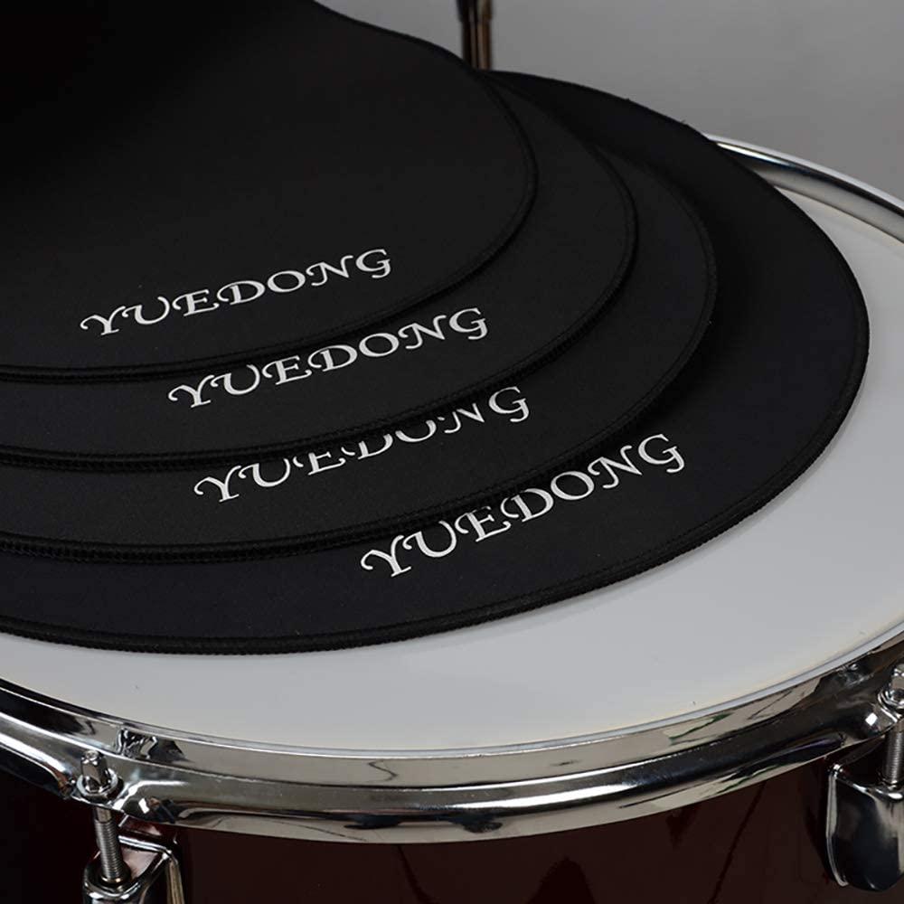 "Drum Mutes Drum Mute Kits Drum Pads - 4 pcs 12"" 13"" 14"" 16"""