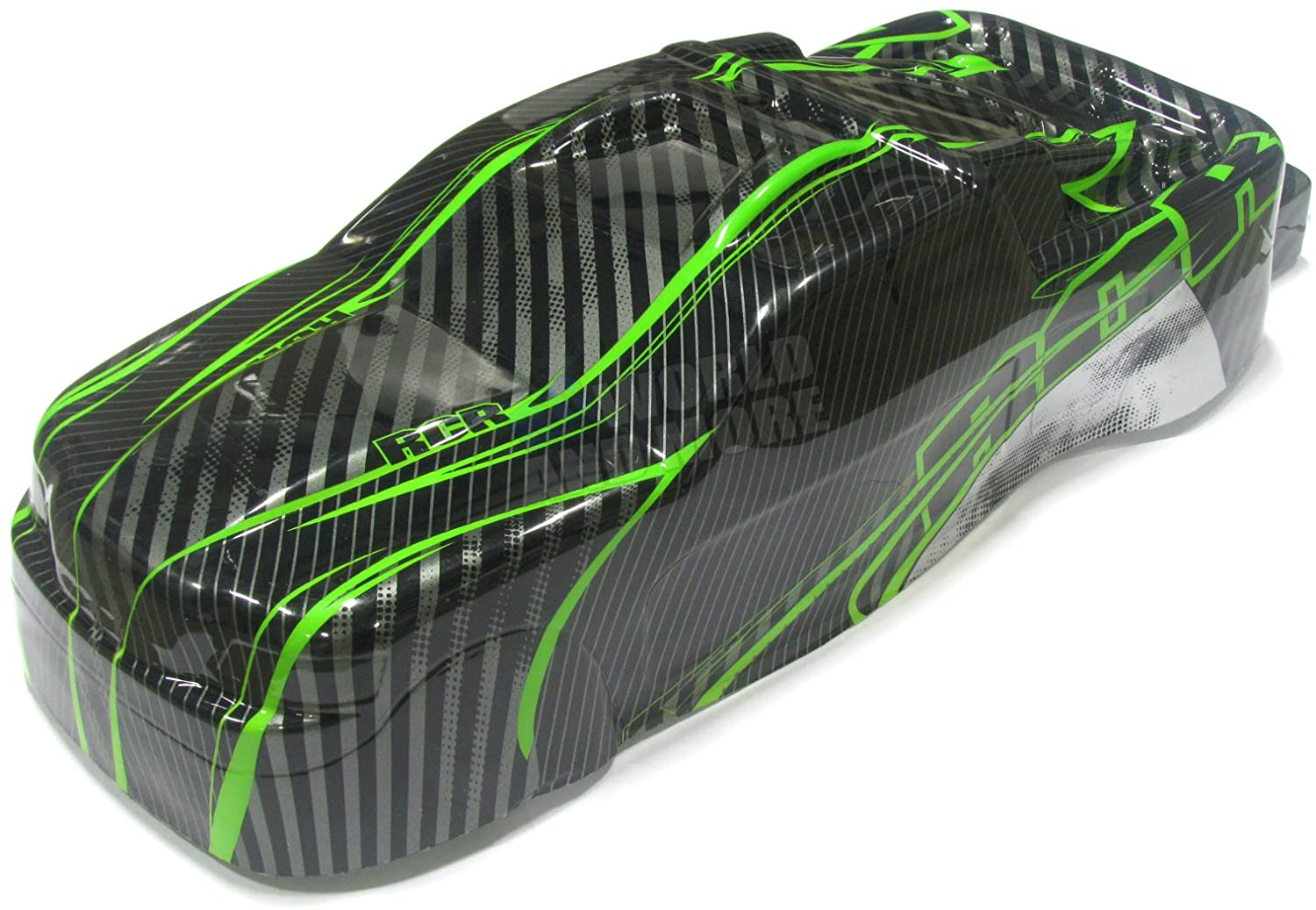 Redcat Racing BS801-017G Earthquake Body, Green/Black