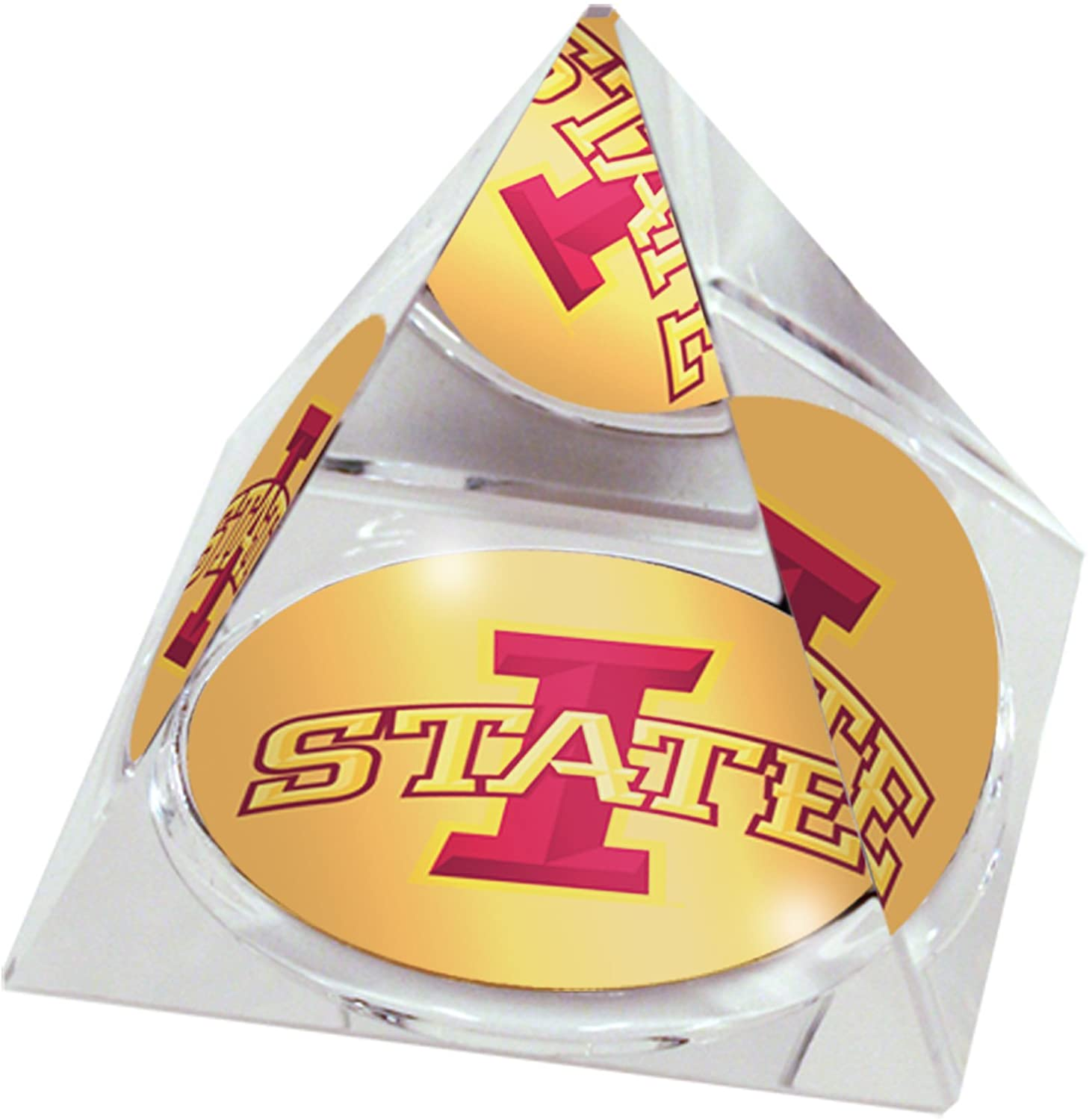 Forever Crystal NCAA Iowa State Cyclones Iowastatelogopy80, 3.25