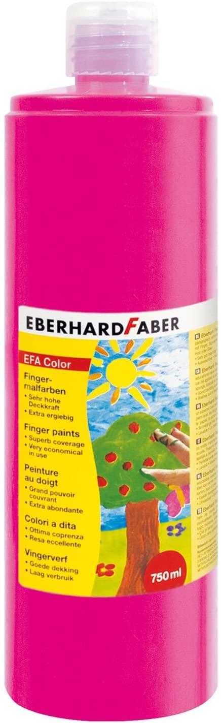 Eberhard Faber 578919 Finger Paint in Bottle 750 ml Light Magenta