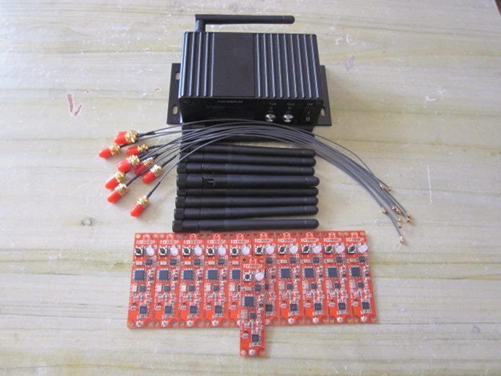 New Box Wireless DMX 1PC Transceiver (Transmitter & Receiver) & 11 Set PCB Module