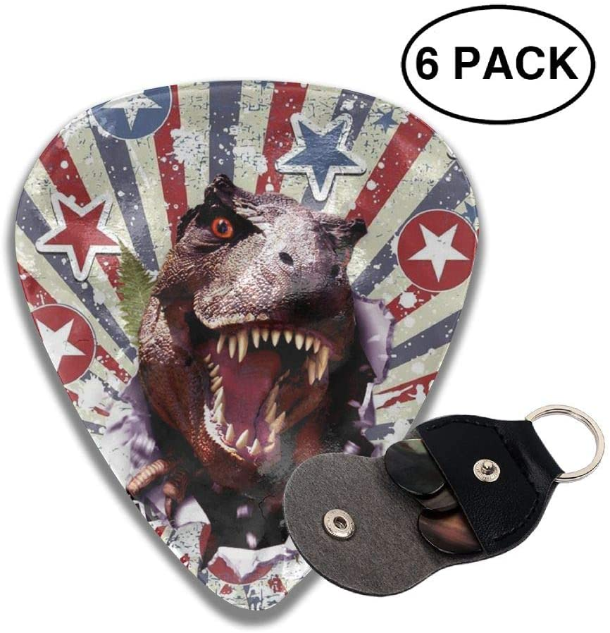 Game Life Star Dinosaurs Guitar Picks Plectrums Middle Finger Classic Celluloid Bass Ukulele