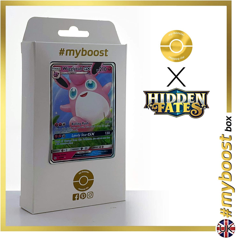 Wigglytuff-GX 42/68 - #myboost X Sun & Moon 11.5 Hidden Fates - Box of 10 Pokemon English Cards