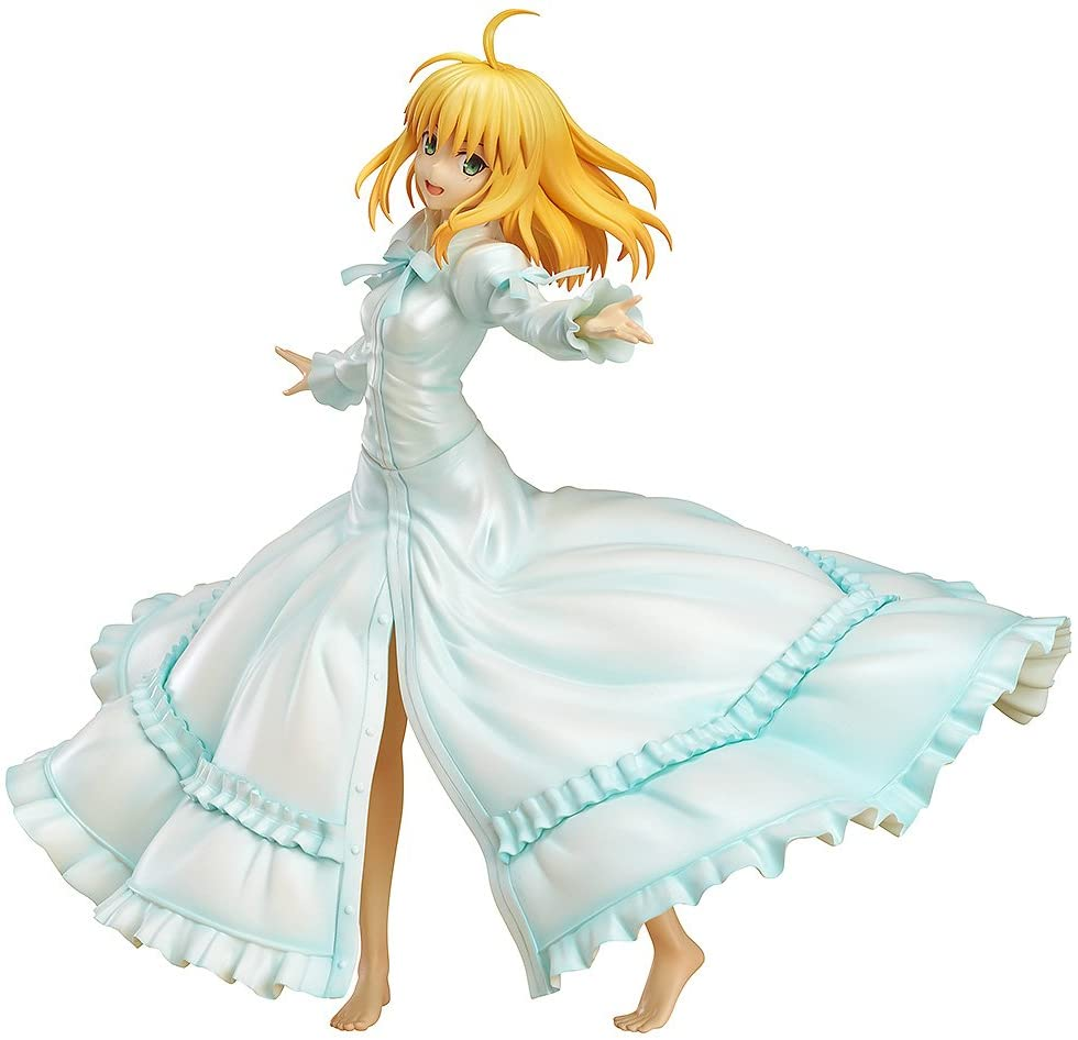 Wing Fate Stay Night: Saber PVC Figure (Last Episode Version) Statue