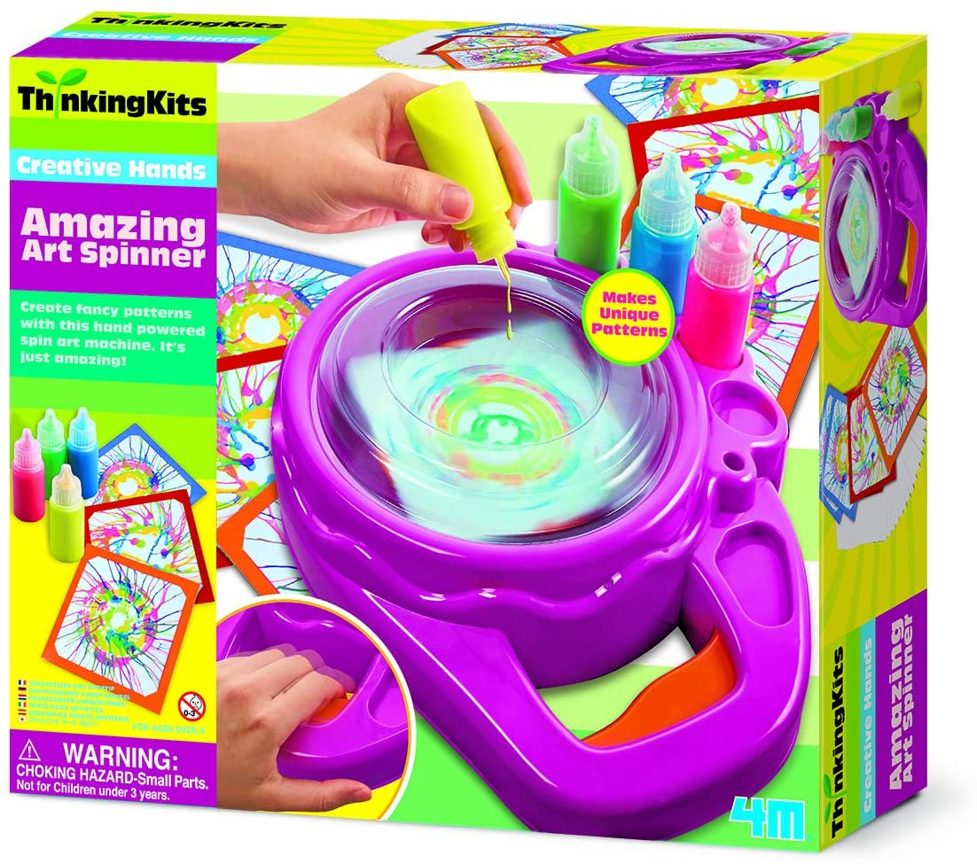 4M 404733 Thinking Kits Amazing Art Spinner Toy