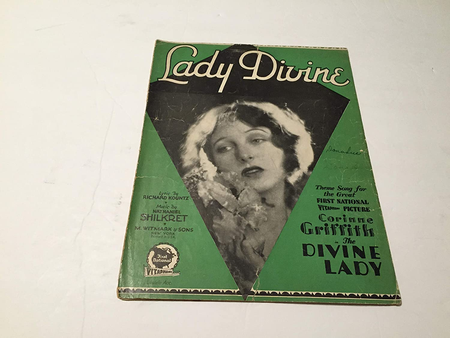 Lady Divine Sheet Music