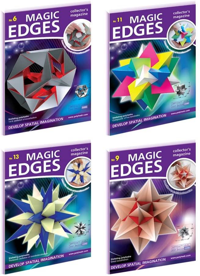 Magic Edges. Polyhedra 3D Paper Model Kits. Set #5. The most difficult polyhedraMagic Edges. Polyhedra 3D Paper Model Kits. Set #5. The most difficult polyhedra