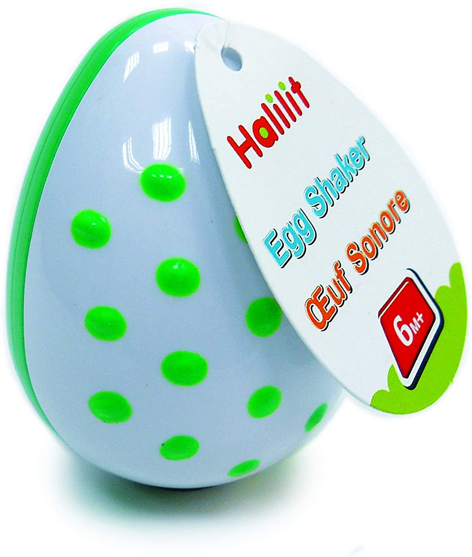 Halilit Ha 359V/3 Musical Shakers Eggs (Set of 3) - Assorted Colours