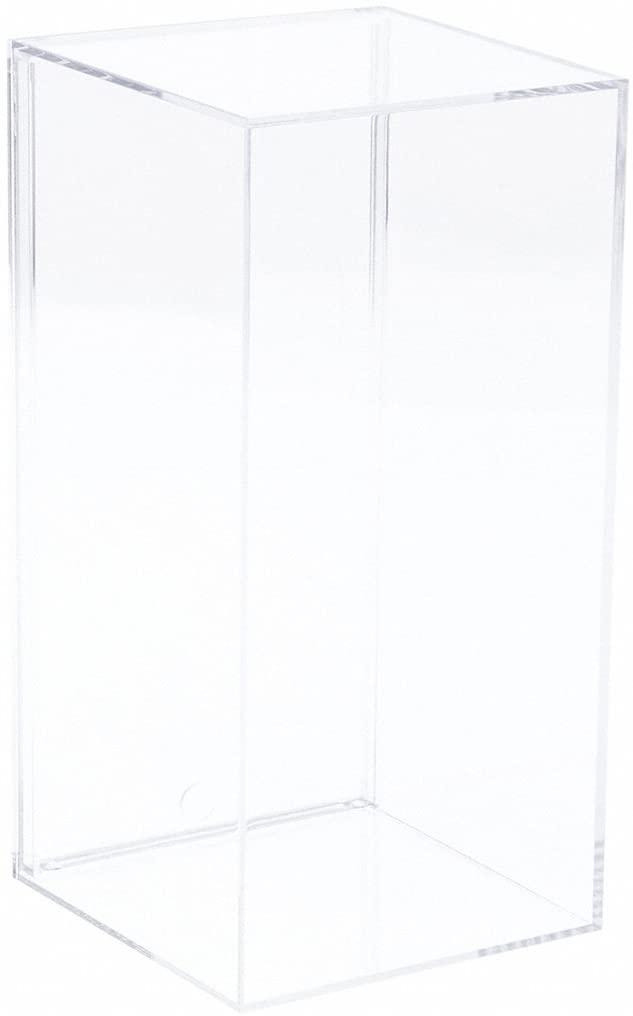 Pioneer Plastics Clear Acrylic Display Case, 3.8125