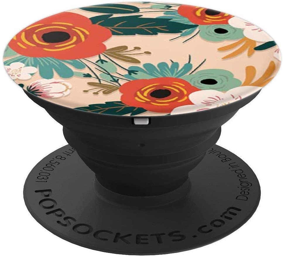 Flowering Reseda Green Phone Popper PopSockets Grip and Stand for Phones and Tablets