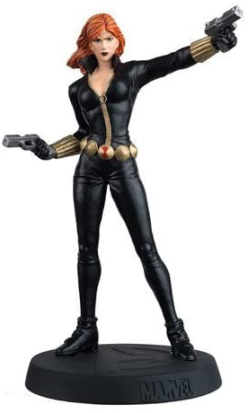 Marvel Avengers Fact Files Special Black Widow Statue with Collector Magazine