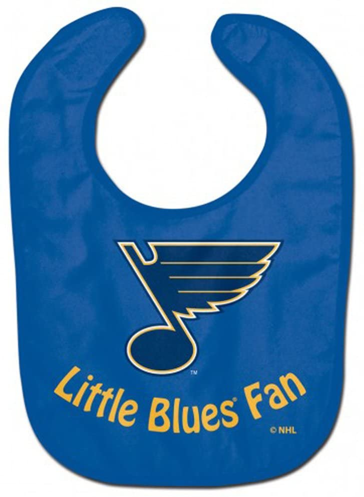 WinCraft NHL St. Louis Blues WCRA2071614 All Pro Baby Bib