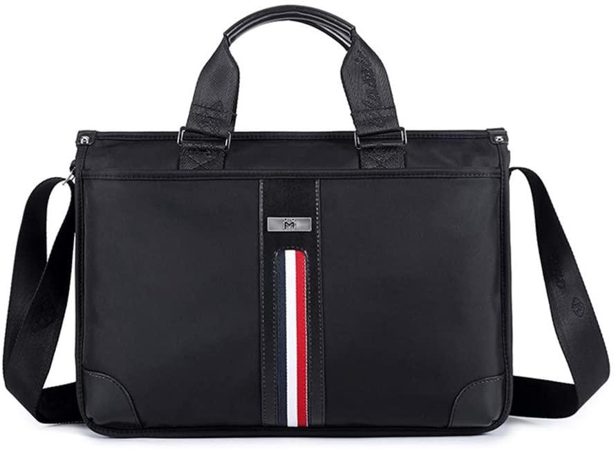 ETERLY Men's Bag Handbag Men's Briefcase Business Oxford Cloth Shoulder Messenger Bag