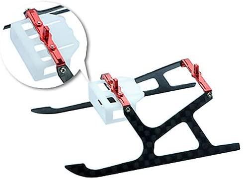 Aluminum/Carbon Fiber Landing Gear, Red:MCPX