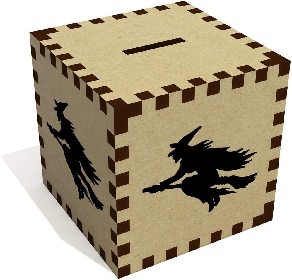 Azeeda 'Witch Silhouette' Money Box / Piggy Bank (MB00001619)