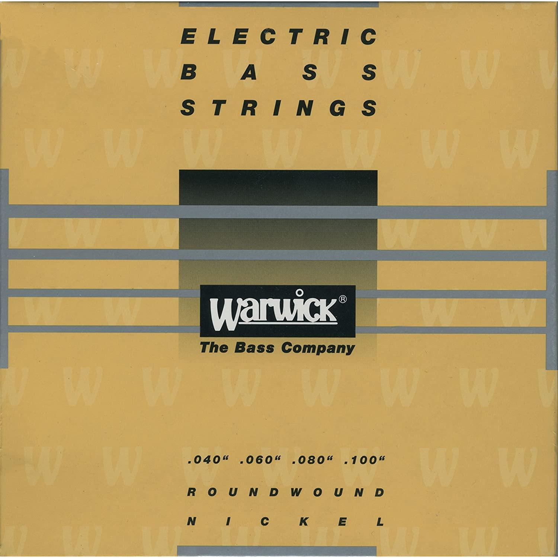 Warwick Yellow Label Medium Light Electric Bass 4 String Set (40-100)