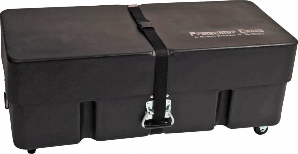 Gator Cases Protechtor Series Classic Compact Drum Hardware Accessory Case with (2) Wheels; 36