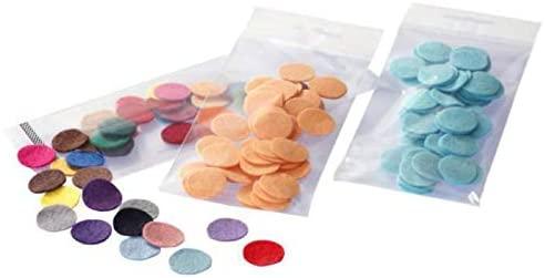 Felt Castor Wheels (50pcs) Mix Color, Textile Semi-Finished, Silk