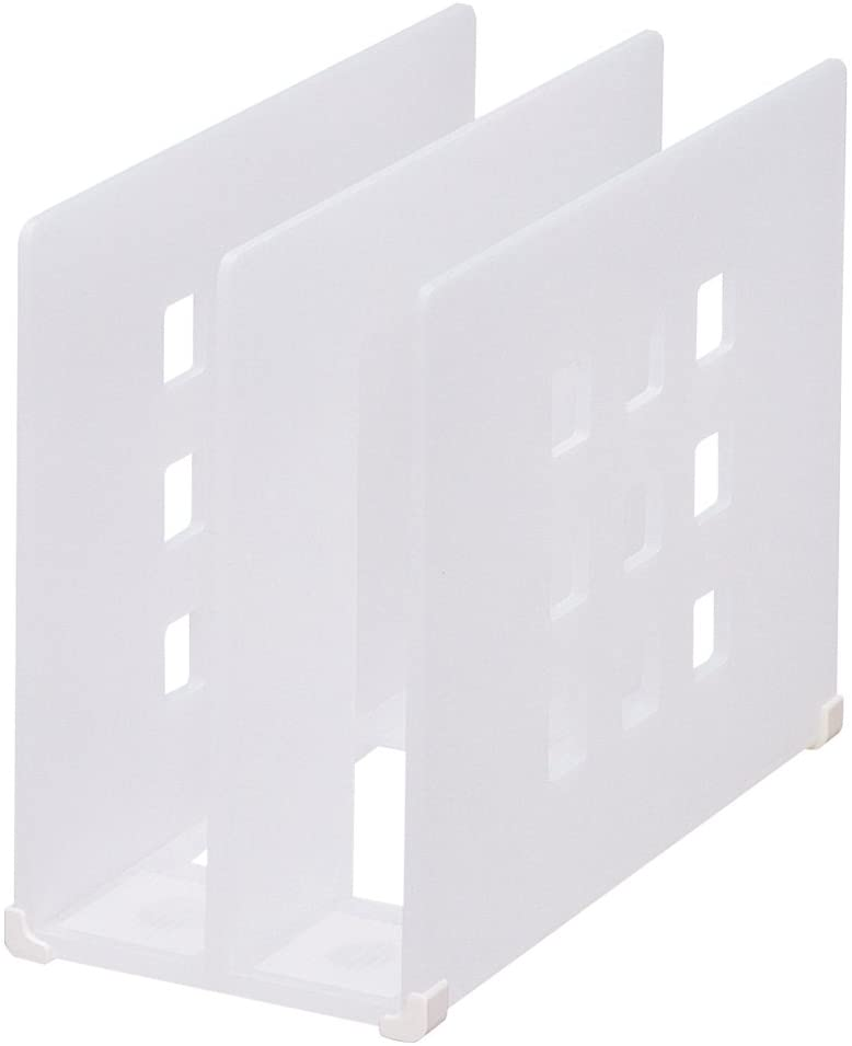 Lihit Lab., Inc. partition rack TEFFA A7320-1 milky white