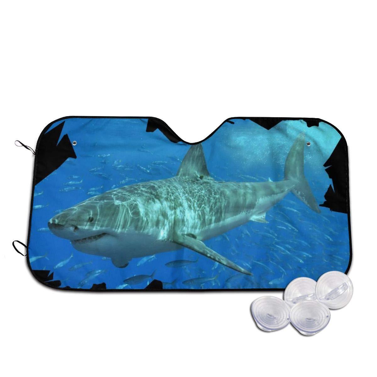 Shark Windshields Sun Shade 3D Printed Long Lasting